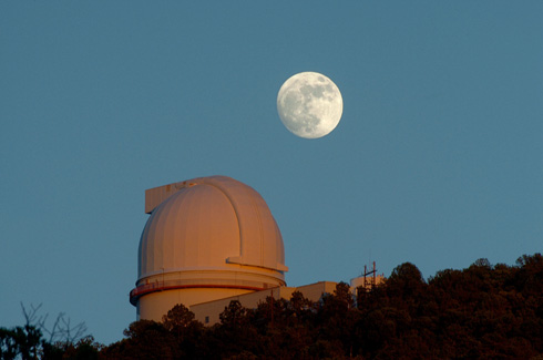 Smith telescope and the Moon